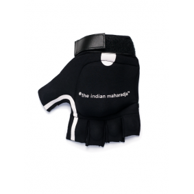 Protectie - Hockeyhandschoenen - Brandshops - Indian Maharadja Brandshop -  kopen - The Indian Maharadja Shell Glove Black