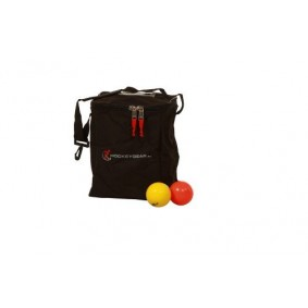 Clubmaterialen bulk - Hockeygear shop - Referee, coach en trainer -  kopen - Hockeygear.eu ballentas t.b.v. 24 ballen zwart