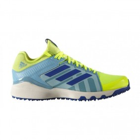 Adidas Brandshop - Adidas hockeyschoenen - Hockey outlet - Hockeyschoenen - Hockeyschoenen sale / outlet - Senior hockeyschoenen -  kopen - Adidas Hockey Lux Yellow-Light Blue | 25% DISCOUNT DEALS