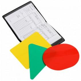 Clubmaterialen bulk - Referee, coach en trainer -  kopen - Scheidsrechter kaarten 5 sets