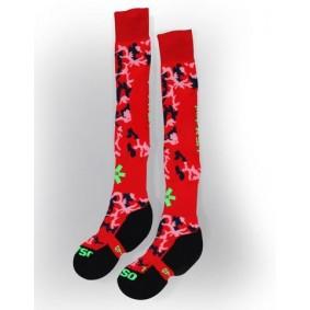 Fantasy Socks - Hockeysokken -  kopen - Osaka Sox Red camo | Hockeykousen