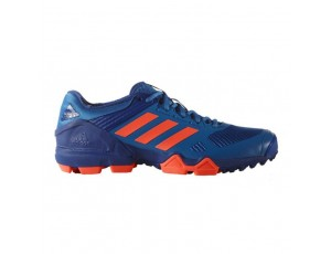 Adidas Brandshop - Adidas hockeyschoenen - Hockey outlet - Hockeyschoenen - Schoenen - Senior hockeyschoenen -  kopen - Adidas AdiPower III Blue Orange 2017 Edition | 25% DISCOUNT DEALS