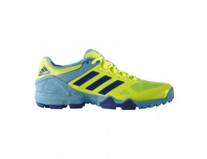Adidas Brandshop - Adidas hockeyschoenen - Hockey outlet - Hockeyschoenen - Schoenen - Senior hockeyschoenen -  kopen - Adidas AdiPower III Yellow-Light Bleu 2017 Edition | 25% DISCOUNT DEALS