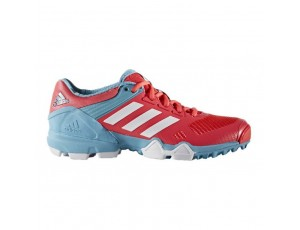 Adidas Brandshop - Adidas hockeyschoenen - Hockey outlet - Hockeyschoenen - Schoenen - Senior hockeyschoenen -  kopen - Adidas AdiPower III Pink Light Blue 2017 Edition | 25% DISCOUNT DEALS