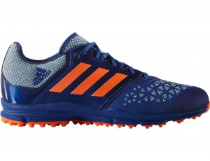 Adidas Brandshop - Adidas hockeyschoenen - Hockey outlet - Hockeyschoenen - Schoenen - Senior hockeyschoenen -  kopen - Adidas Zone Dox Blue-Orange | 25% DISCOUNT DEALS