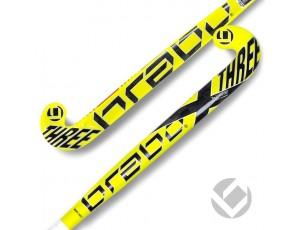 Brabo - Hockeysticks - Sticks -  kopen - Brabo Textreme X-3 LOW BOW 30% ACTIE