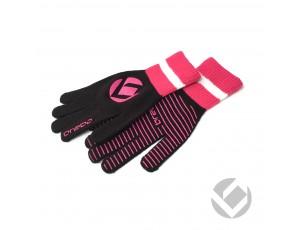 Hockeyhandschoenen - Protectie - Winterhandschoenen - kopen - Brabo Winterglove Extra Grip Black Pink