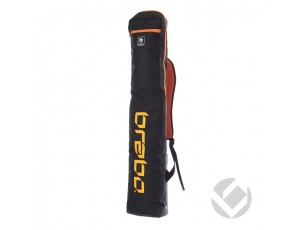 Hockeytassen - Sticktassen -  kopen - Brabo Stickbag Storm Black/Orange
