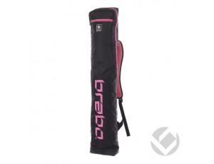 Hockeytassen - Sticktassen -  kopen - Brabo Stickbag Storm Black/Pink