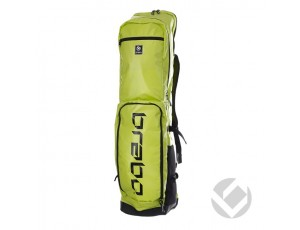 Hockeytassen - Sticktassen -  kopen - Brabo Stickbag Textreme Lime/Black