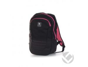Hockeytassen - Rugzakken - kopen - Brabo Backpack Junior Traditional Black/Pink