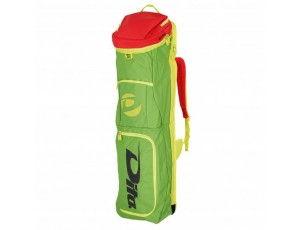 Hockeytassen - Sticktassen -  kopen - Dita Stickbag Giant groen/roze/geel