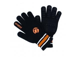 Hockeyhandschoenen - Protectie -  kopen - Brabo Winterglove Extra Grip Black Orange
