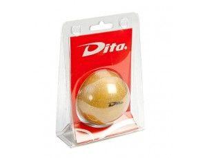 Hockeyballen - Hockeyballen particulieren - kopen - Dita bal in blister Gold glitter
