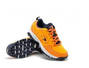Dita hockeyschoenen - Junior hockeyschoenen - kopen - Dita STBL 100 Orange / Navy Junior hockeyschoenen
