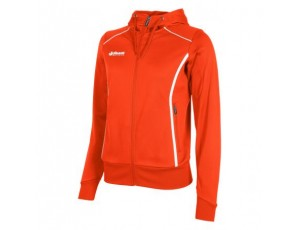 Hockey trainingsjassen - Hockey truien - Reece Australia - kopen - Reece Core TTS Hooded Full Zip Ladies – Orange | Leverbaar vanaf 1 juli