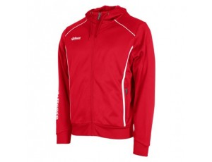 Hockey trainingsjassen - Hockey truien - Reece Australia - kopen - Reece Core TTS Hooded Full Zip Unisex SR – Red | Leverbaar vanaf 1 juli