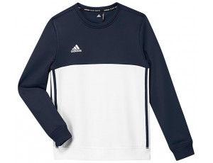 Adidas teamkleding - Hockey truien - Hockeykleding - T16 teamkleding - kopen - Adidas T16 Crew Sweat Jeugd Navy