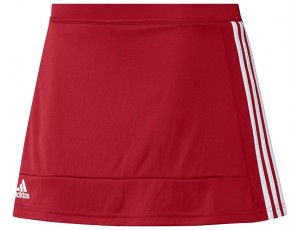 Adidas teamkleding - Hockey rokjes - Hockeykleding - T16 teamkleding - kopen - Adidas T16 Skort Women Red