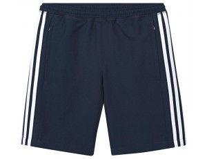 Adidas teamkleding - Hockey broeken - Hockeykleding - T16 teamkleding - kopen - Adidas T16 Climacool Short Jeugd Jongens Navy