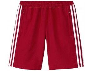 Adidas teamkleding - Hockey broeken - Hockeykleding - T16 teamkleding - kopen - Adidas T16 Climacool Short Jeugd Jongens Red