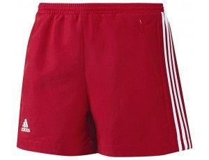 Adidas teamkleding - Hockey broeken - Hockeykleding - T16 teamkleding - kopen - Adidas T16 Climacool Short Women Red