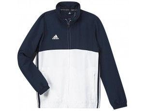 Adidas teamkleding - Hockey trainingsjassen - Hockeykleding - T16 teamkleding - kopen - Adidas T16 Team Jacket Jeugd Navy