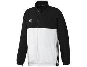Adidas teamkleding - Hockey trainingsjassen - Hockeykleding - T16 teamkleding - kopen - Adidas T16 Team Jacket Men Black
