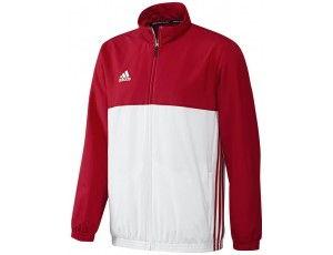 Adidas teamkleding - Hockey trainingsjassen - Hockeykleding - T16 teamkleding - kopen - Adidas T16 Team Jacket Men Red