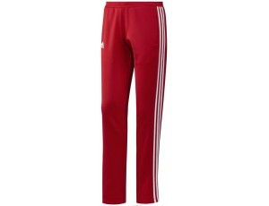 Adidas teamkleding - Hockey broeken - Hockeykleding - T16 teamkleding - kopen - Adidas T16 Sweat Pant Women Red
