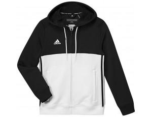 Adidas teamkleding - Hockey truien - Hockeykleding - T16 teamkleding - kopen - Adidas T16 Hoody Jeugd Black