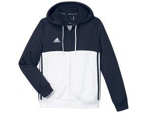 Adidas teamkleding - Hockey truien - Hockeykleding - T16 teamkleding - kopen - Adidas T16 Hoody Jeugd Navy