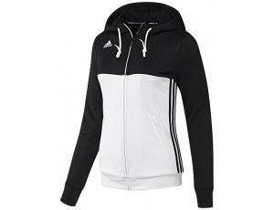 Adidas teamkleding - Hockey truien - Hockeykleding - T16 teamkleding - kopen - Adidas T16 Hoody Women Black
