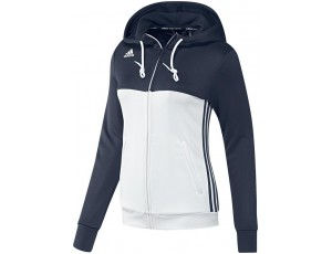 Adidas teamkleding - Hockey truien - Hockeykleding - T16 teamkleding - kopen - Adidas T16 Hoody Women Navy