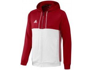 Adidas teamkleding - Hockey truien - Hockeykleding - T16 teamkleding - kopen - Adidas T16 Hoody Men Red