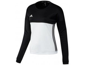 Adidas teamkleding - Hockey truien - Hockeykleding - T16 teamkleding - kopen - Adidas T16 Crew Sweat Women Black