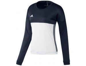 Adidas teamkleding - Hockey truien - Hockeykleding - T16 teamkleding - kopen - Adidas T16 Crew Sweat Women Navy