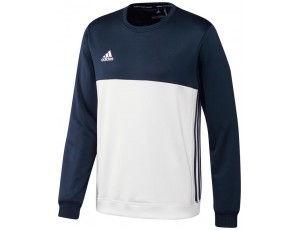 Adidas teamkleding - Hockey truien - Hockeykleding - T16 teamkleding - kopen - Adidas T16 Crew Sweat Men Navy
