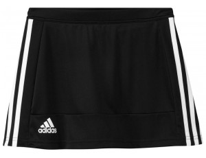 Adidas teamkleding - Hockey rokjes - Hockeykleding - T16 teamkleding - kopen - Adidas T16 Skort Jeugd Meisjes Black