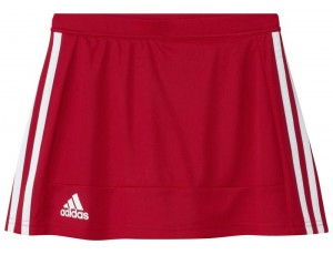 Adidas teamkleding - Hockey rokjes - Hockeykleding - T16 teamkleding - kopen - Adidas T16 Skort Jeugd Meisjes Red