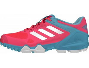 Adidas Brandshop - Adidas hockeyschoenen - Senior hockeyschoenen -  kopen - Adidas AdiPower III Pink-Light Blue (Pre Order leverbaar vanaf Juli 2016)