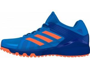Adidas Brandshop - Adidas hockeyschoenen - Senior hockeyschoenen -  kopen - Adidas Hockey Lux Blue-Orange (Pre Order leverbaar vanaf Juli 2016)