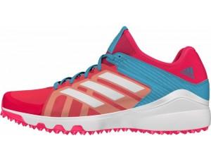 Adidas Brandshop - Adidas hockeyschoenen - Senior hockeyschoenen -  kopen - Adidas Hockey Lux Pink-Light Blue (Pre Order leverbaar vanaf Juli 2016)