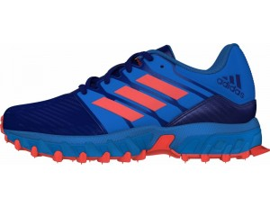 Hockeyschoenen - Adidas hockeyschoenen - Junior hockeyschoenen - Adidas Brandshop - kopen - Adidas Hockey Lux Junior Blue-Orange