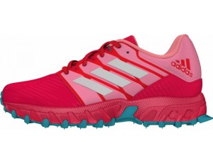 Hockeyschoenen - Adidas hockeyschoenen - Junior hockeyschoenen - Adidas Brandshop - kopen - Adidas Hockey Lux Junior Pink-Light Blue