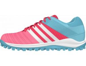 Adidas Brandshop - Adidas hockeyschoenen - Senior hockeyschoenen -  kopen - Adidas SRS.4 Pink-Light Blue (Pre Order leverbaar vanaf Juli 2016)