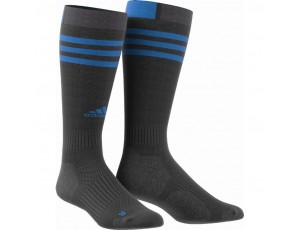 Fantasy Socks - Hockeykleding - Hockeysokken - kopen - Adidas HY kous Zwart/Blauw