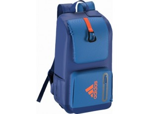 Adidas Brandshop - Rugzakken -  kopen - Adidas Hockey Backpack Blue-Orange