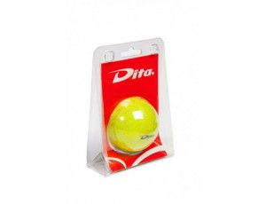 Hockeyballen - Hockeyballen particulieren - kopen - Dita bal in blister Yellow glitter