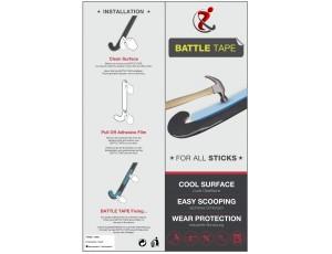Cadeaus en gadgets - Hockey tape - kopen - Hockeygear.eu Battle Tape Clear